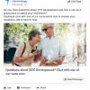 Facebook newsfeed example